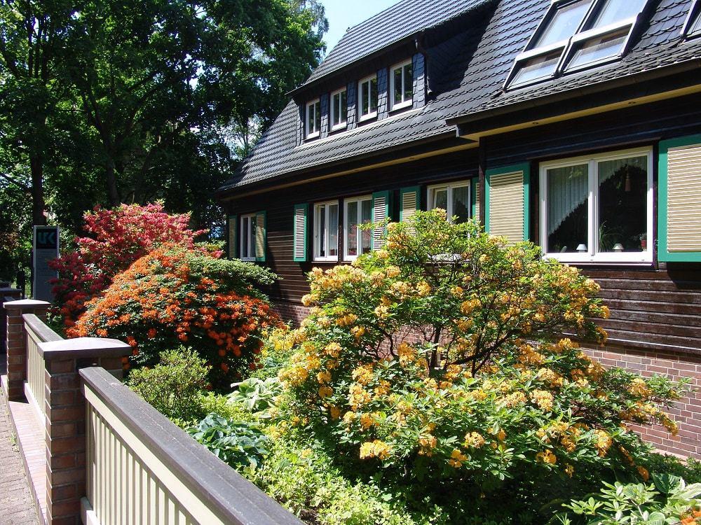 Vorgarten - Apartments Stadt- und Parkblick